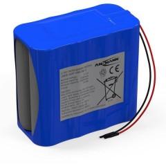 Pacco batteria 8x 18650 4S2P con cavo Li-Ion 14.4 V 5200 mAh