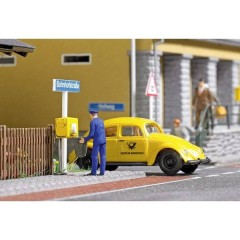 H0 Volkswagen Gabbia con postmann e cassetta postale