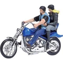 H0 Motocicletta con aquiloni per bikers