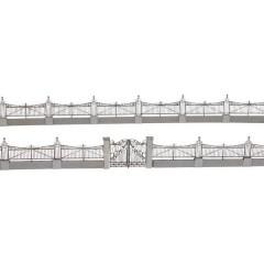 Steccato Jugendstil Kit da montare taglio laser H0