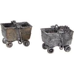 H0 kit 2 pz. vagone per carbone Modello stampa 3D