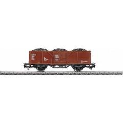 Märklin, H0 vagone merci aperto El-u 061 con carico di carbone