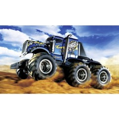 Konghead 6x6 Brushed 1:18 Automodello Elettrica Monstertruck 4WD In kit da costruire