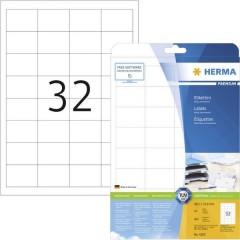 Etichette 48.3 x 33.8 mm Carta Bianco 800 pz. Permanente Etichetta universale Inchiostro, Laser, Copia 25