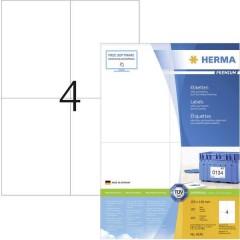 Etichette 105 x 148 mm Carta Bianco 400 pz. Permanente Etichetta universale, Etichetta per affrancatura