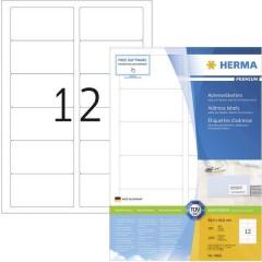 Etichette 88.9 x 46.6 mm Carta Bianco 1200 pz. Permanente Etichetta universale, Etichetta per indirizzo