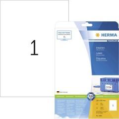 Etichette 210 x 297 mm Carta Bianco 25 pz. Permanente Etichetta universale, Etichetta per spedizioni