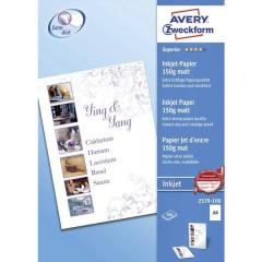 Superior Inkjet Paper Carta per stampante a getto dinchiostro DIN A4 150 gm² 100 Foglio Bianco