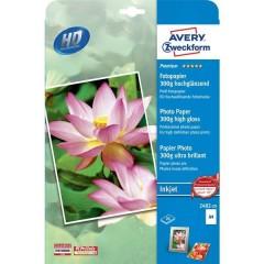 Premium Photo Paper Inkjet Carta fotografica DIN A4 300 gm² 20 Foglio Super lucida