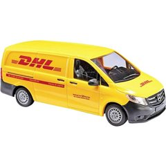 H0 Mercedes Benz Vagone per box DHL