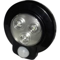 Lampada sottopensile LED con rilevatore di movimento Nero