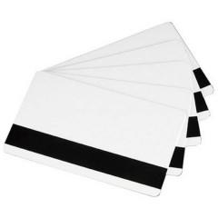 Carte di plastica con bande magnetiche, stampabili Premier PVC HiCo Magnet Stripe (L x A) 85 mm x 54 mm Bianco Kit