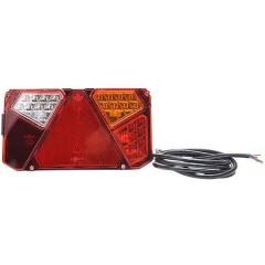 Fanale posteriore per rimorchio Cavi terminali Luce di direzione, Luce di stop, Fanale posteriore, Riflettore,