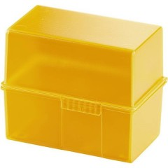 SIGNAL Schedario Arancione Numero max. di schede: 200 Schede DIN A8 orizzontale incl. 100 cartoncini a righe
