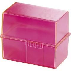 SIGNAL Schedario Rosa Numero max. di schede: 200 Schede DIN A8 orizzontale incl. 100 cartoncini a righe