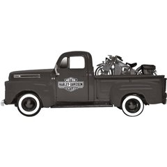 Ford F1 ´48 & Harley-Davidson WLA Flathead 42 1:24 Automodello
