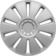 GRID Copri ruota R14 Argento 1 pz.