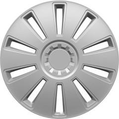 GRID Copri ruota R16 Argento 1 pz.
