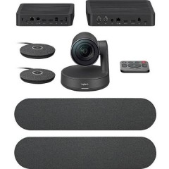 Rally Plus Ultra-HD Webcam 4K 1440 x 720 Pixel Con piedistallo