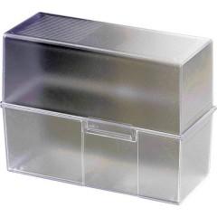 Schedario Translucido , Trasparente Numero max. di schede: 500 Schede DIN A5 orizzontale