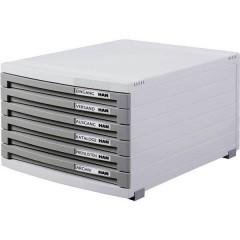 CONTOUR Cassettiera DIN A4, DIN B4, DIN C4 Numero cassetti: 3