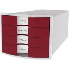 IMPULS 2.0 Cassettiera Grigio luminescente DIN A4, DIN C4 Numero cassetti: 4