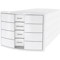 IMPULS 2.0 Cassettiera Bianco DIN A4, DIN C4 Numero cassetti: 4