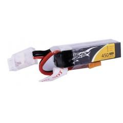 Batteria ricaricabile LiPo 11.1 V 450 mAh Numero di celle: 3 75 C Softcase XT30