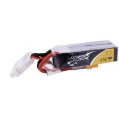 Batteria ricaricabile LiPo 14.8 V 450 mAh Numero di celle: 4 75 C Softcase XT30