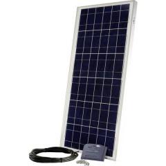 PX 60, SR6.6 Kit energia solare 60 Wp Cavo di collegamento incl., Regolatore di carica incl.