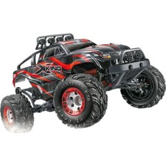 X-King Brushed 1:12 Automodello Elettrica Monstertruck 4WD RtR 2,4 GHz