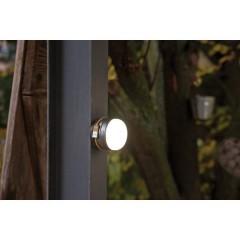Oli 0300 A LED (monocolore) Luce da campeggio 350 lm a batteria ricaricabile Argento, Nero, Giallo