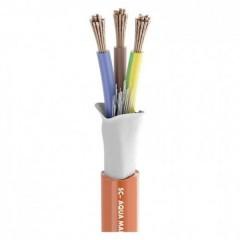 Cavo installazione 3 x 2.50 mm² Arancione Merce a metro