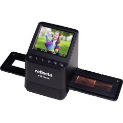 x10-Scan Scanner per negativi 14 MPixel Digitalizzazione senza PC, Display, Slot per schede di memoria, Uscita