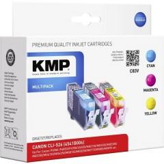 Cartuccia Compatibile sostituisce Canon CLI-526 Imballo multiplo Ciano, Magenta, Giallo C83V