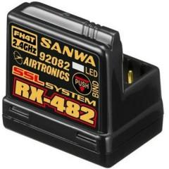 RX-482 Ricevitore a 4 canali 2,4 GHz Sistema innesto JR