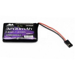Batteria ricaricabile per trasmettitore LiPo 3.7 V 3200 mAh Stick JR