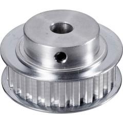 Alluminio Puleggia per cinghia dentata Ø foro: 8 mm Diametro: 45 mm Numero di denti: 25