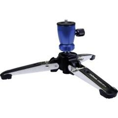 Vario Stand VP-3 blau Stativo da tavolo 1/4 pollice Altezza operativa=10 - 12 cm Blu, Argento Testa a sfera