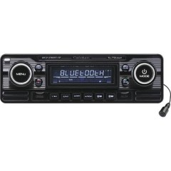 RCD-120BT/B Autoradio Design retrò, Vivavoce Bluetooth®