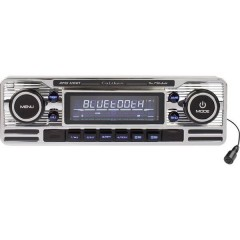 RMD-120BT Autoradio Design retrò, Vivavoce Bluetooth®