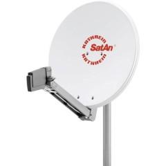 CAS 80 Antenna SAT 75 cm Materiale riflettente: Alluminio Bianco
