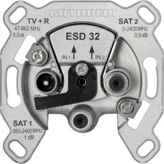 ESD32 Presa per antenna Da incasso
