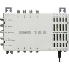 EXR 158 SAT multiswitch Ingressi (Multiswitch): 5 (4 satellitare / 1 terrestre) Numero utenti: 8