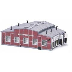 Deposito per locomotive in kit da montare H0