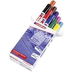 edding 3300 Marcatore indelebile Nero, Rosso, Giallo, Arancione, Blu, Verde, Marrone, Violetto, Rosa,