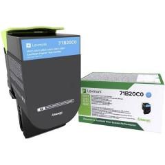 Toner return program CS317 CS417 CS517 CX317 CX417 CX517 Originale Ciano 2300 pagine