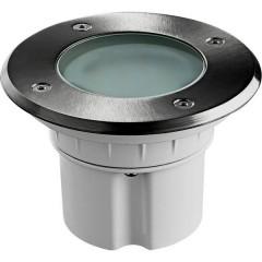 MESSINA Lampada LED da incasso a pavimento LED (monocolore) 9 W Bianco caldo acciaio inox