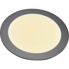 Pannello LED 12 W Bianco caldo Argento