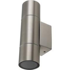 GRENADA Lampada da parete GU10 acciaio inox